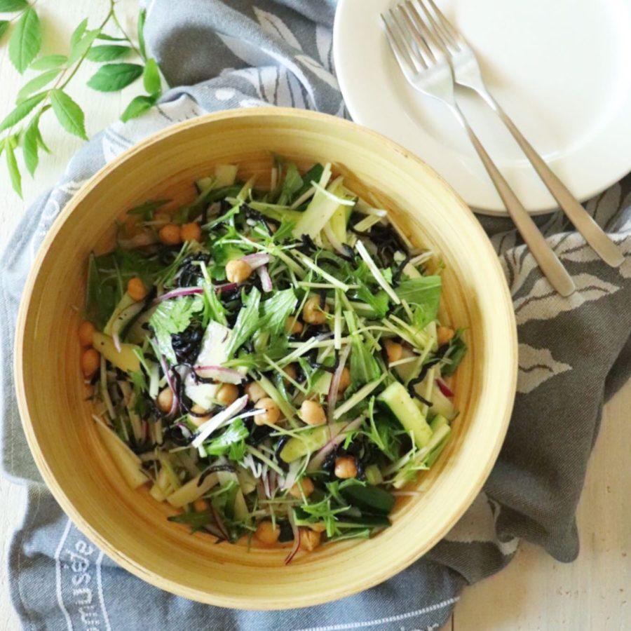 料理リレー✨ひじきと胡瓜サラダ(レシピ付き)