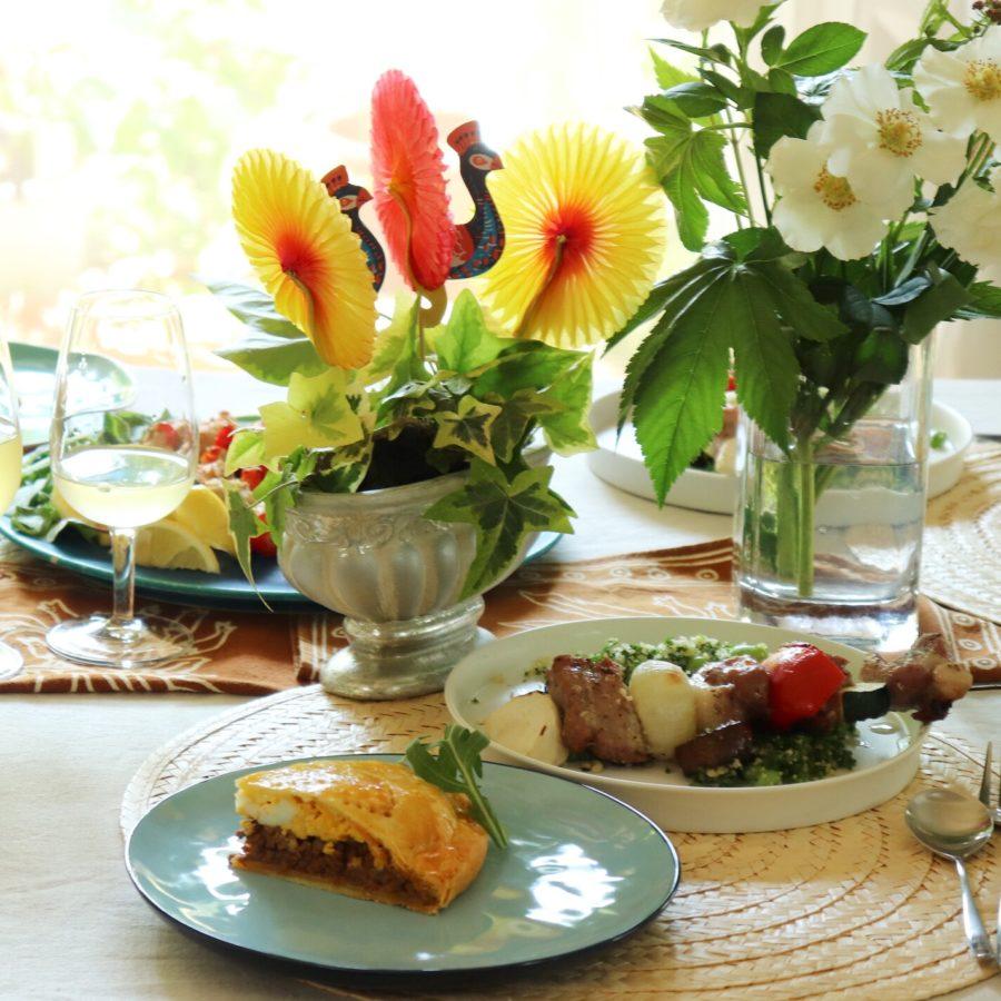8月フランス家庭料理レッスンスタートしました